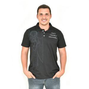 camisa-polo-arcanjo-miguel-preta