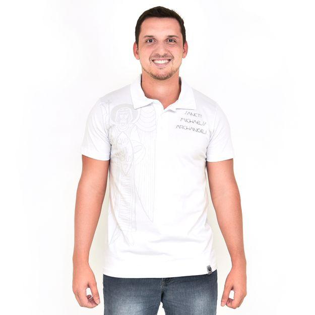 camisa-polo-arcanjo-miguel-branca