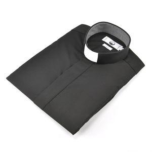 camisa-clerg-manga-curta-preta
