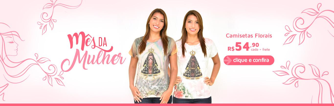 Camisetas Florais