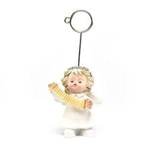 anjinho-branco-de-resina-instrumento-musical