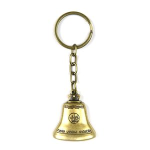 chaveiro-dourado-sino-argola