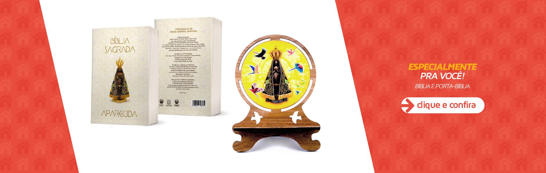Bíblia e Porta-Bíblia